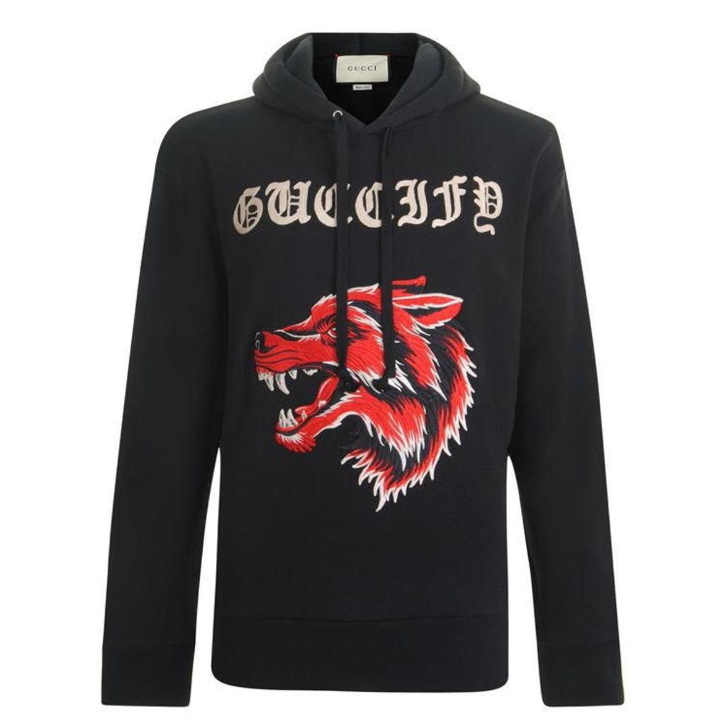 GUCCI Wolf Hooded Sweatshirt