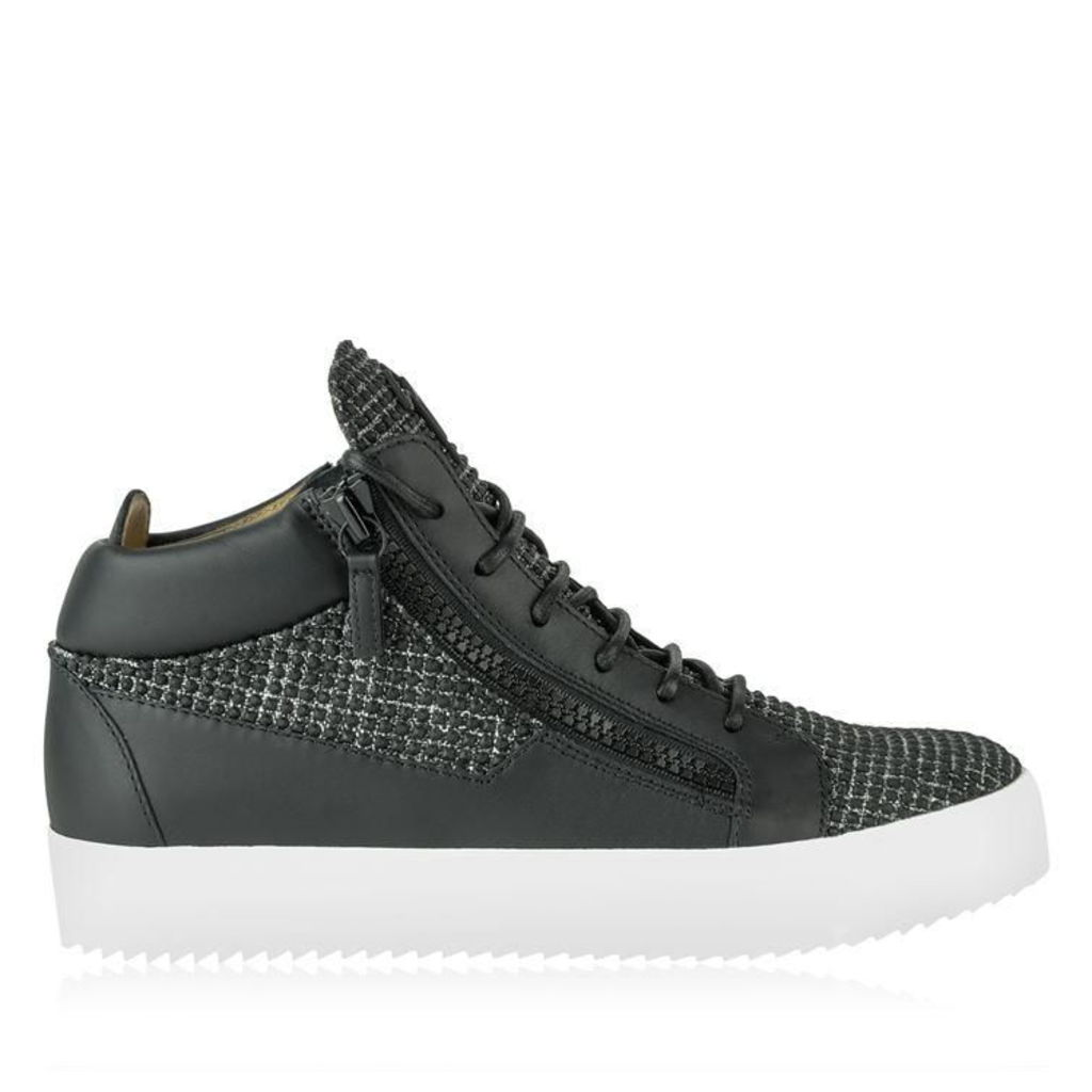 GIUSEPPE ZANOTTI May Rubber Mid Top Trainers