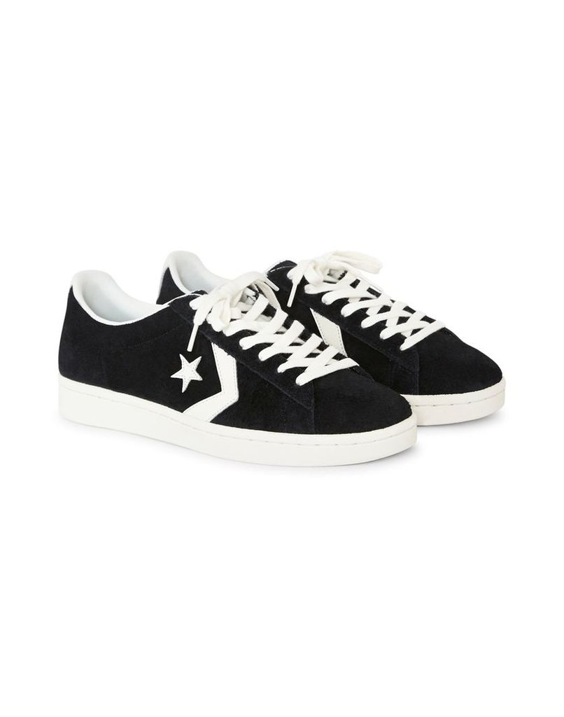 Converse Pro Leather '76 Suede Ox Black