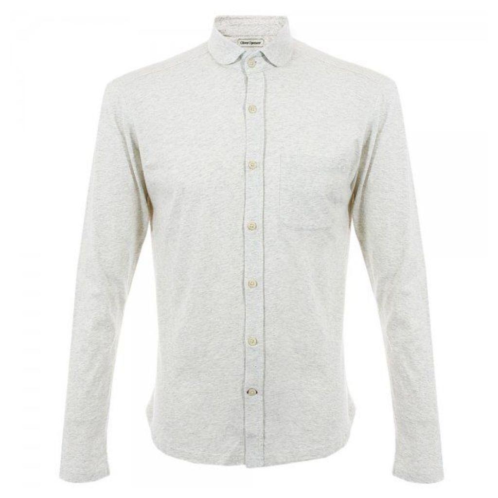 Oliver Spencer Jersey Oatmeal Shirt OSK450