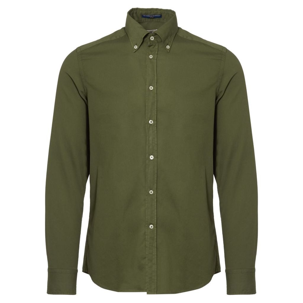Green Dexter Button Down Shirt