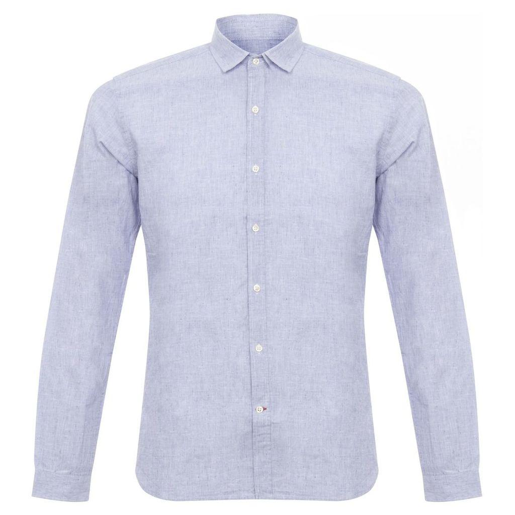 Oliver Spencer Clerkenwell Hurst Blue Shirt OSS66A
