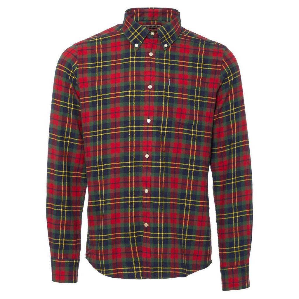 Red & Navy Finley Highland Check Shirt