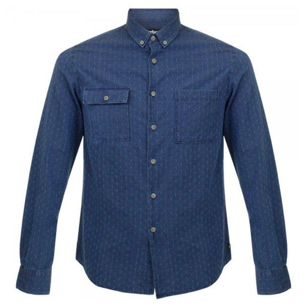 Barbour International Willis Indigo Shirt MSH3539IN32