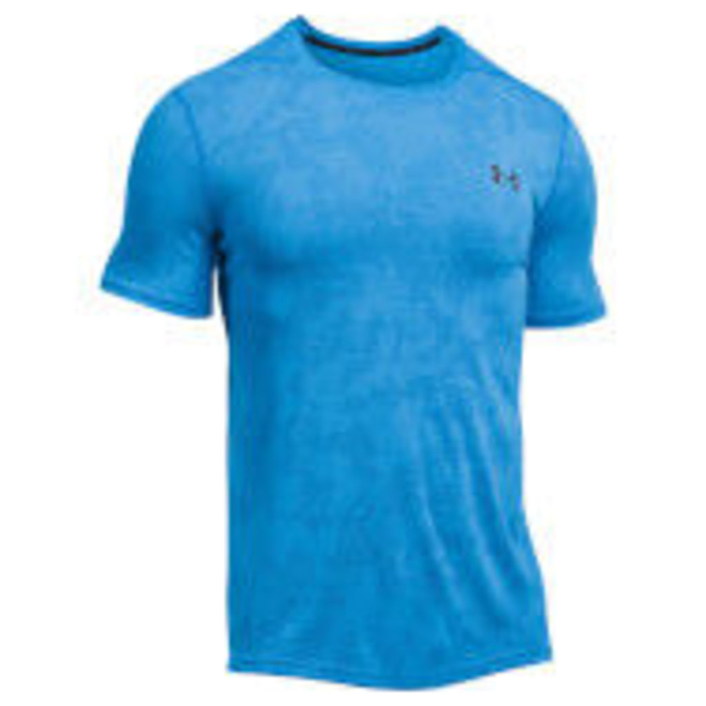 Under Armour Men's Elite Fitted T-Shirt - Blue - M - Blue