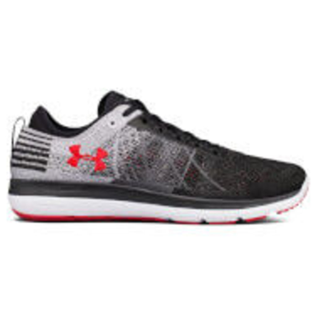Under Armour Men's Threadborne Fortis Running Shoes - Black - US 11/UK 10 - Black