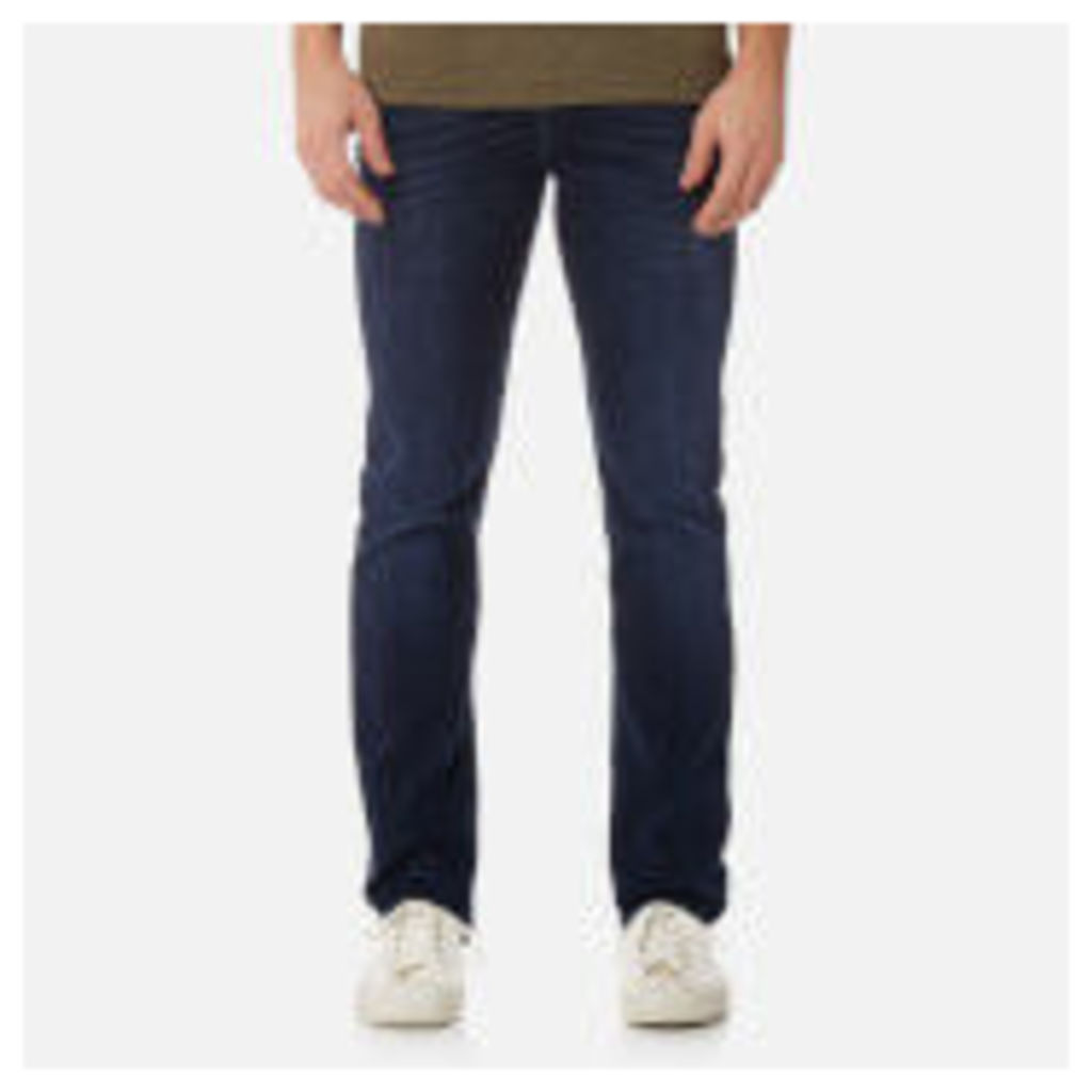 7 For All Mankind Men's Slimmy Denim Jeans - Dark Blue - W30 - Blue