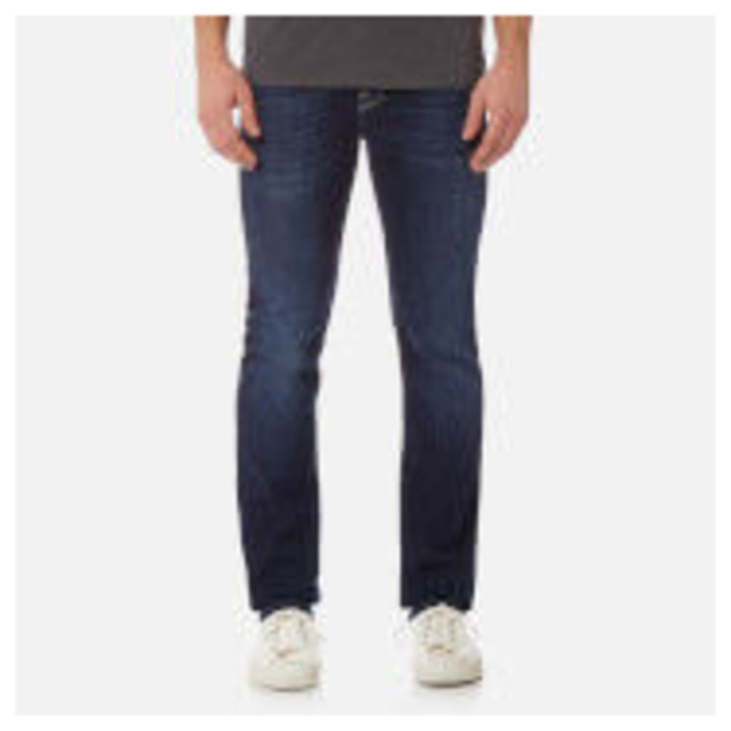 7 For All Mankind Men's Slimmy Denim Jeans - NY Dark Used - W30 - Blue