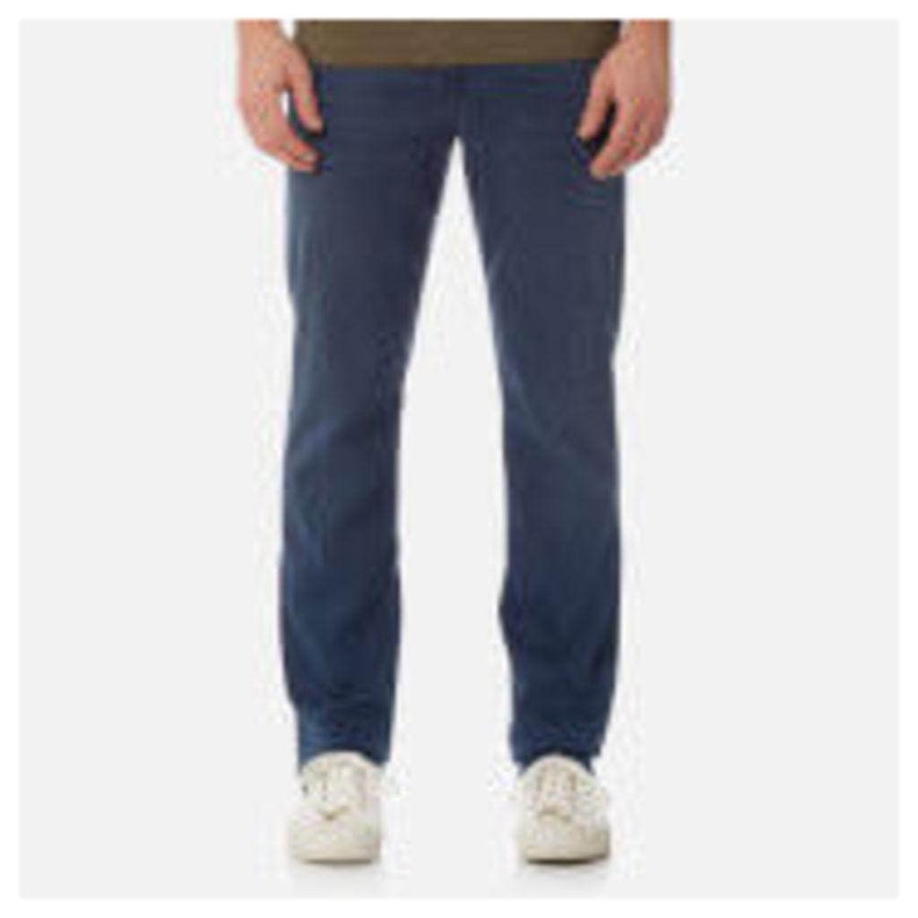 7 For All Mankind Men's Slimmy Denim Jeans - Plus Dark Blue - W36 - Blue