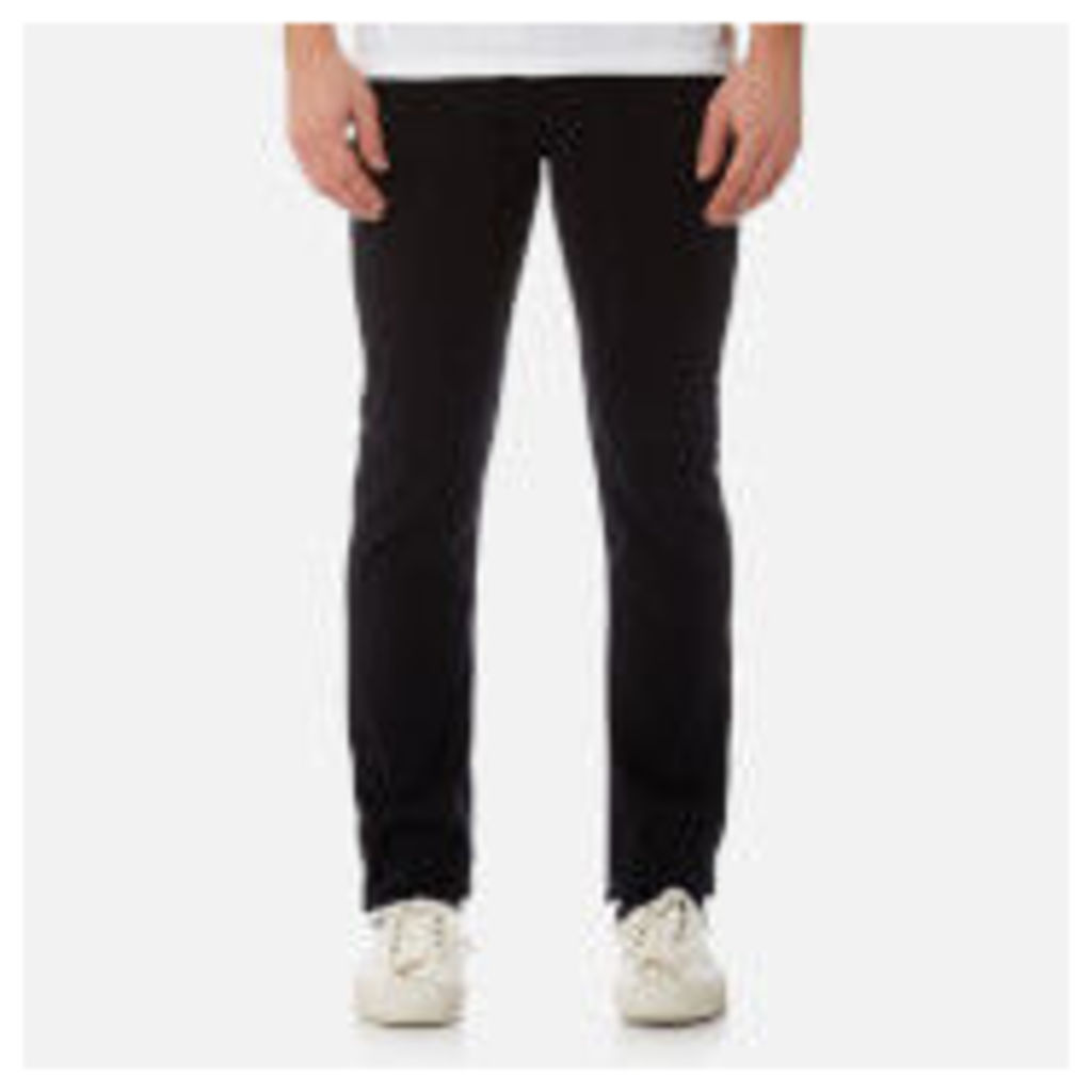 7 For All Mankind Men's Slimmy Denim Jeans - Plus Rinse Black - W30 - Black