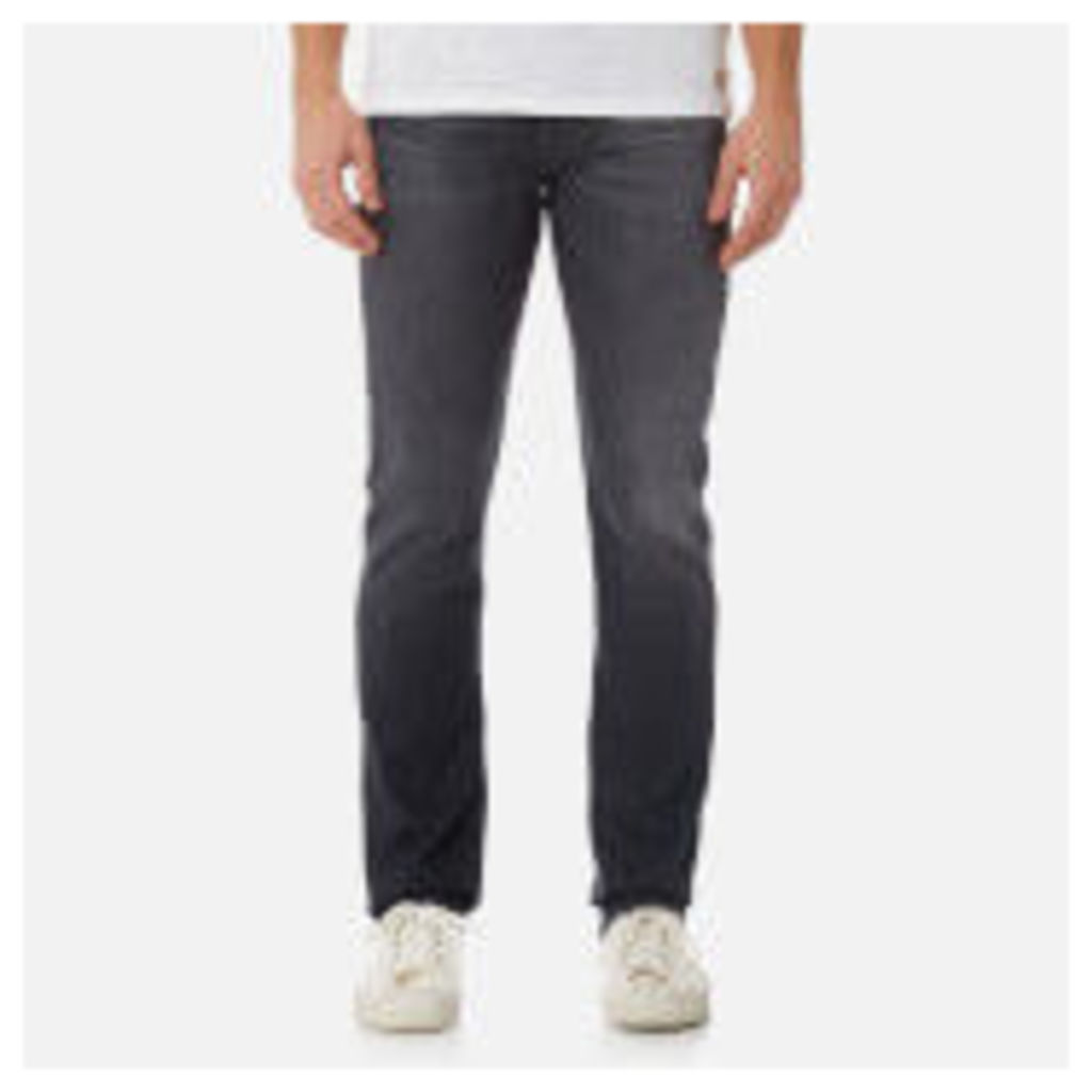 7 For All Mankind Men's Slimmy Denim Jeans - Magnificent Grey - W30 - Grey