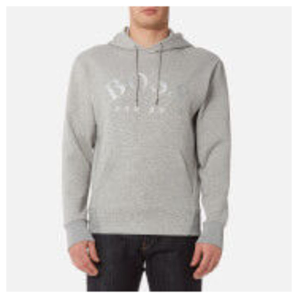 BOSS Green Men's Sly Hoody - Grey - S - Grey