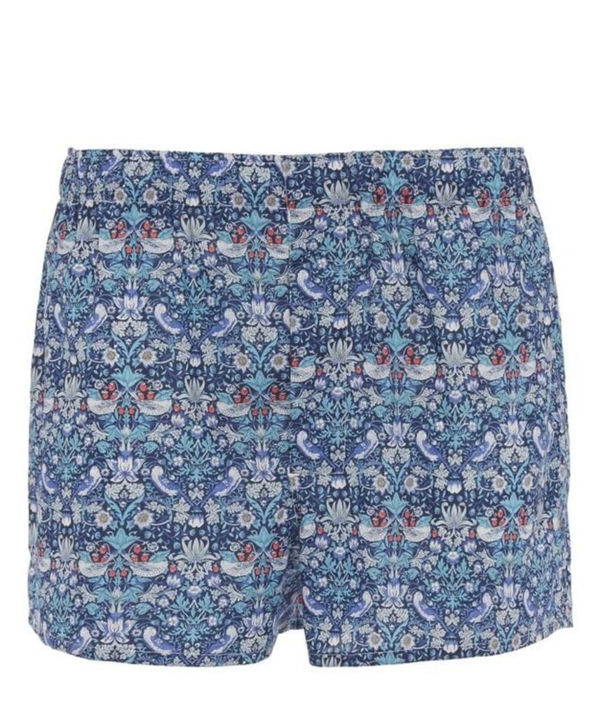 Strawberry Thief Tana Lawn Cotton Boxer Shorts