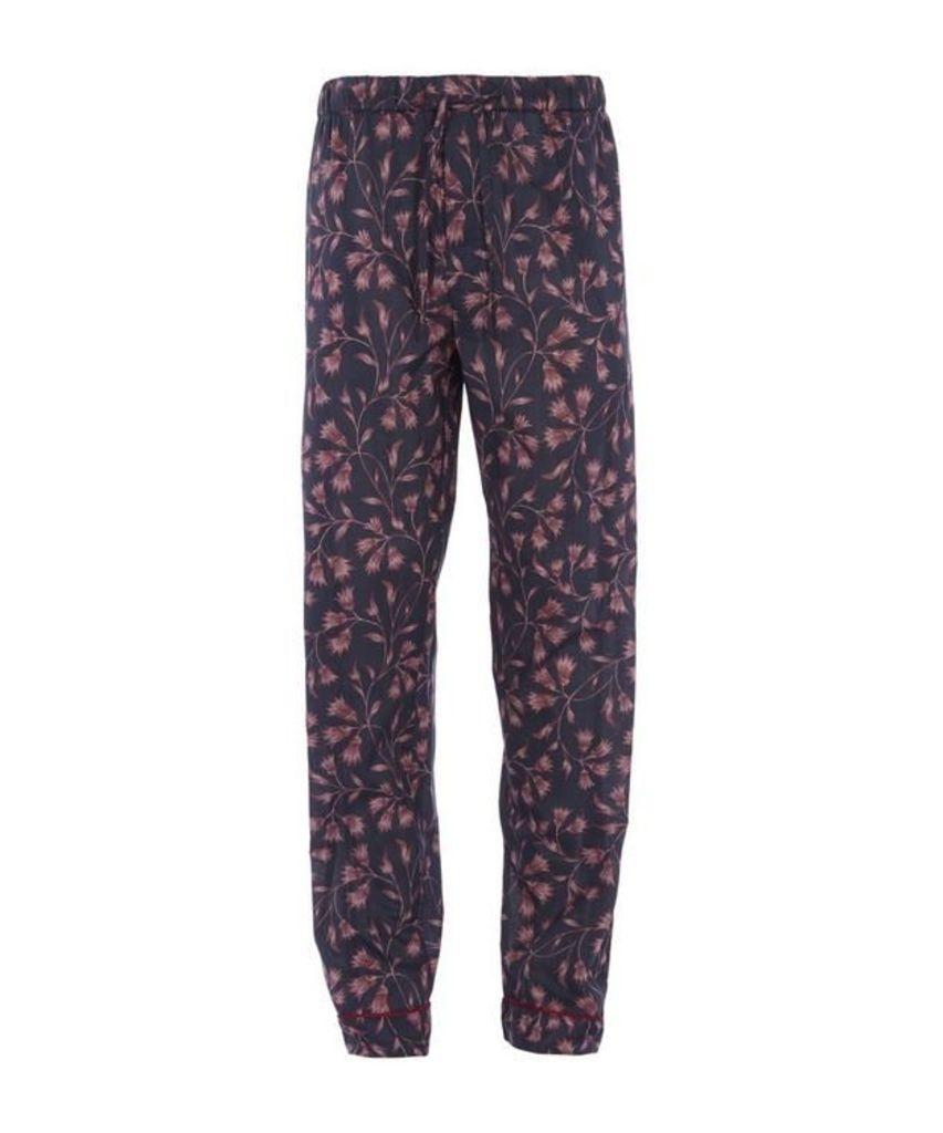 Beverly Bluebell Print Pyjama Trousers