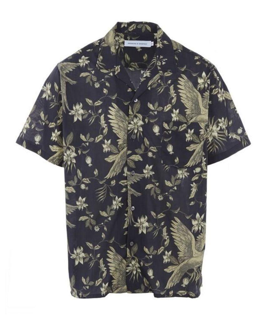 Bromley Parrot Pyjama Shirt
