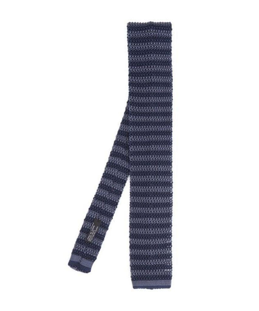 Knitted Stripe Tie
