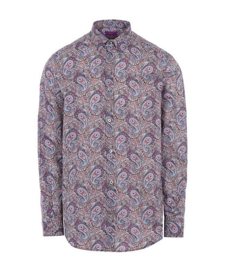 Lee Manor Print Tana Lawn Cotton Shirt