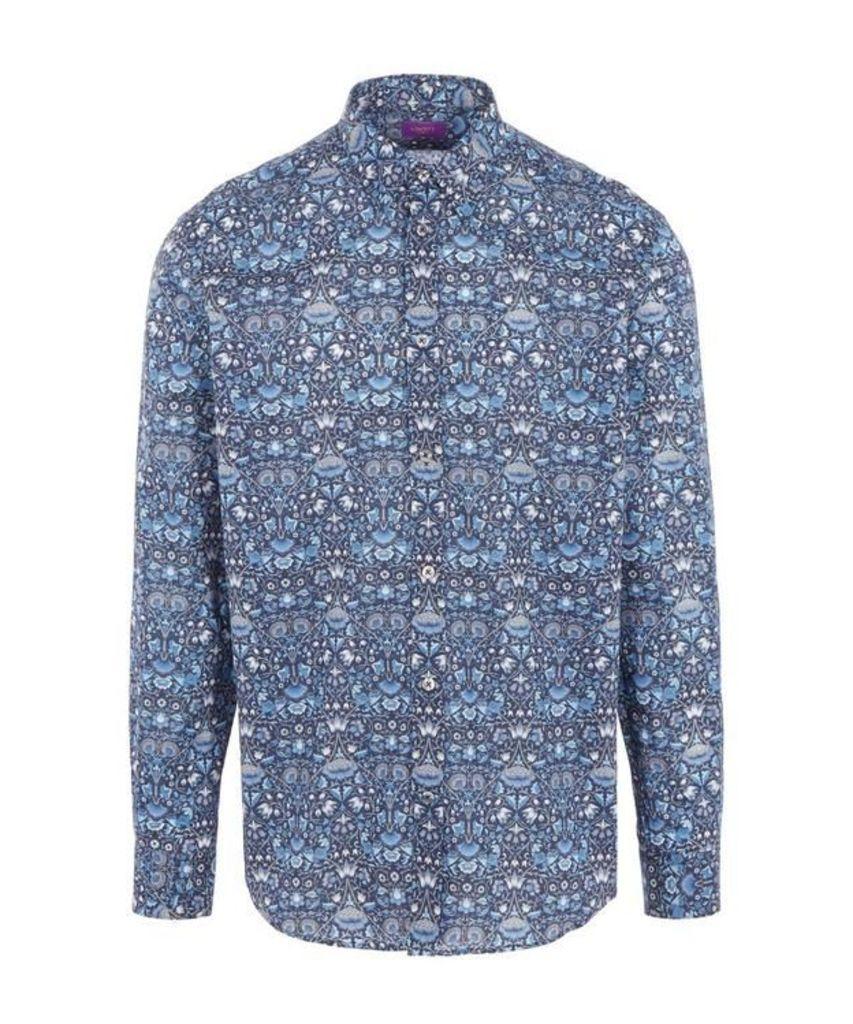 Lodden Print Tana Lawn Cotton Shirt