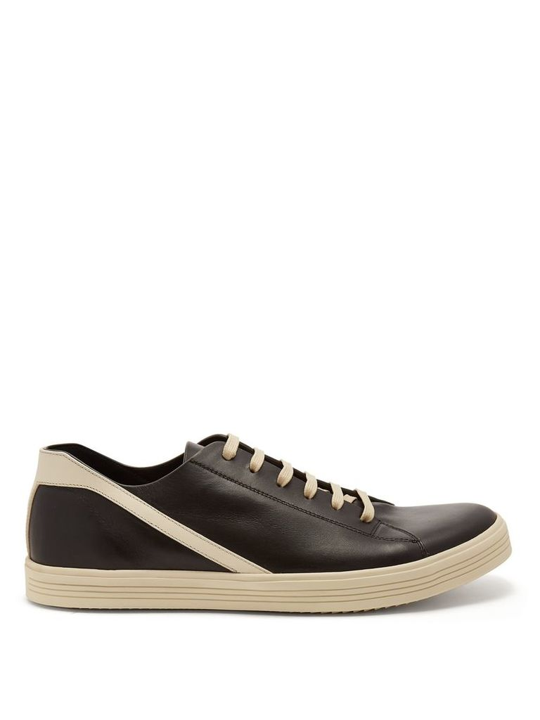 Geotrasher low-top leather trainers