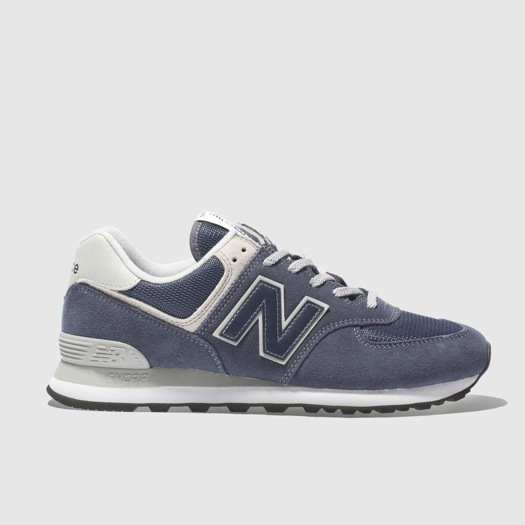 new balance navy nb 574 trainers