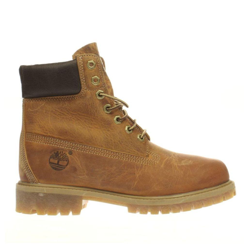 timberland brown heritage 6 inch premium boots