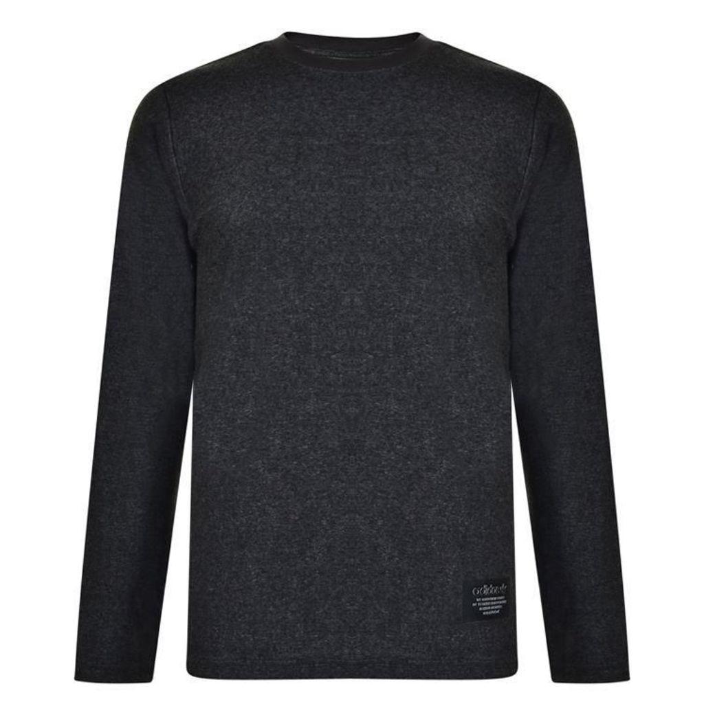 ADIDAS ORIGINALS Long Sleeved Logo T Shirt