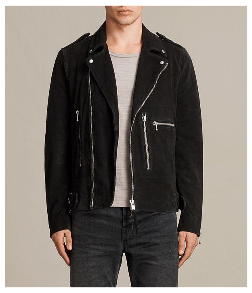 Nash Suede Biker Jacket