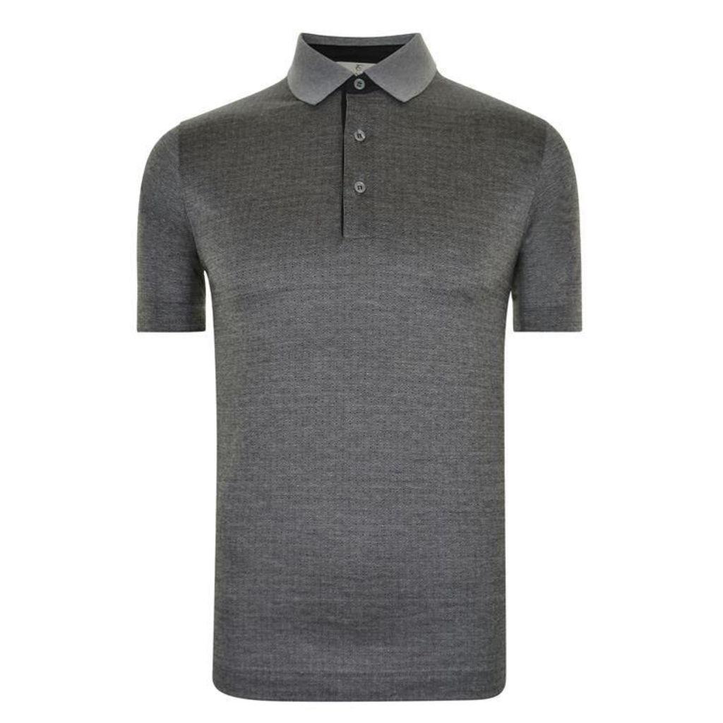 CANALI Microdot Polo Shirt