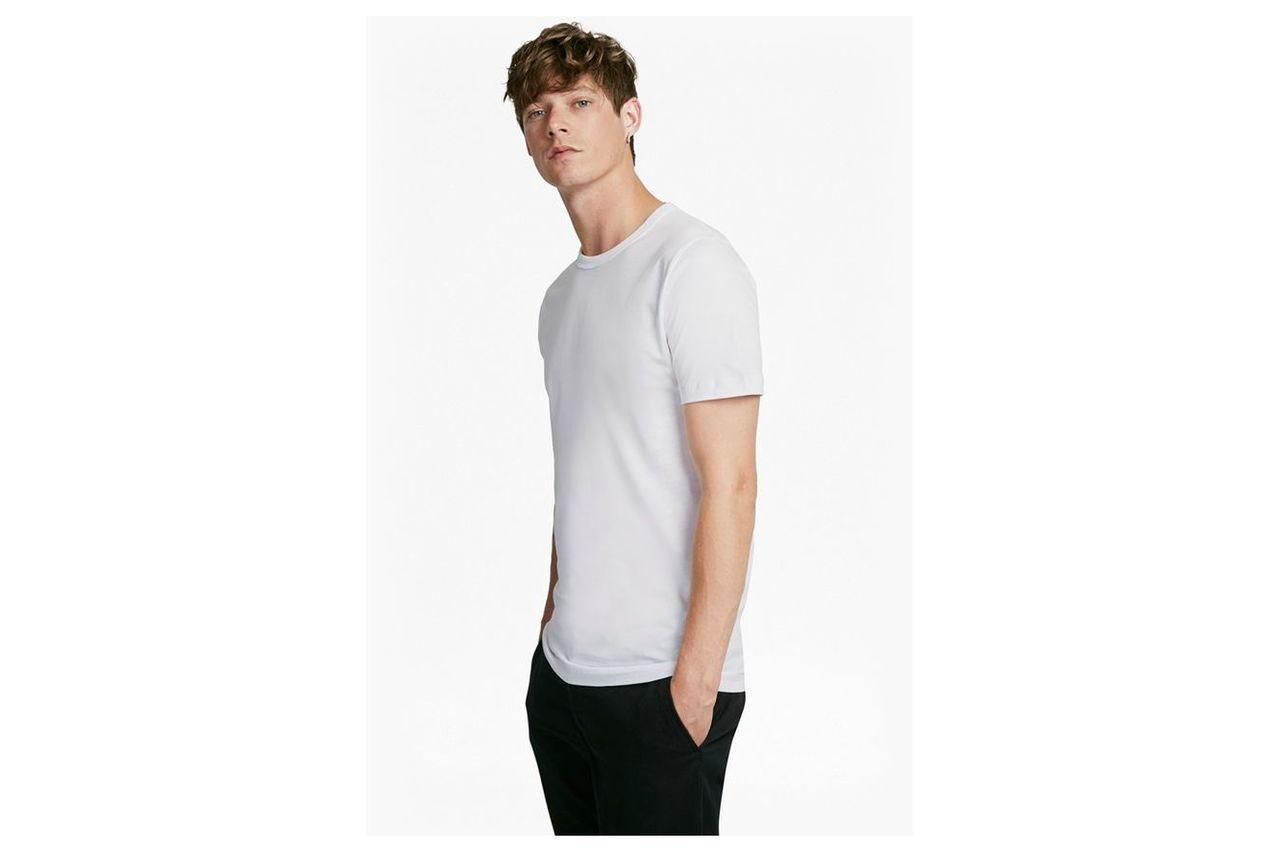Classic Cotton T-Shirt - white