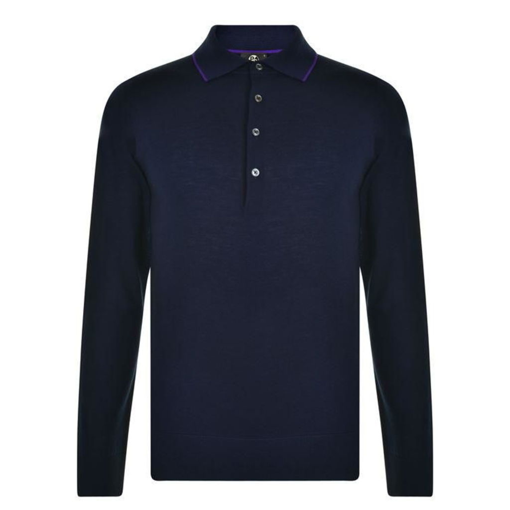 PAUL SMITH Knit Polo Shirt