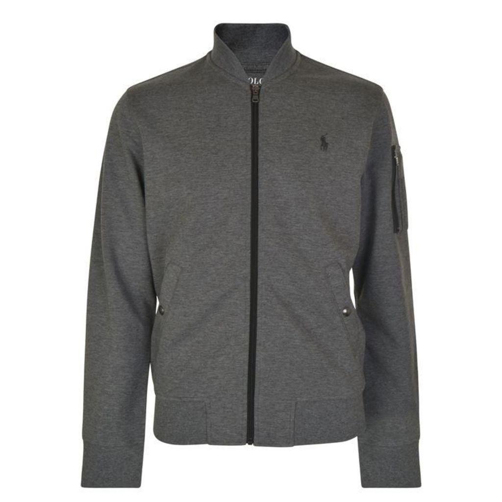 POLO RALPH LAUREN Zipped Logo Sweatshirt