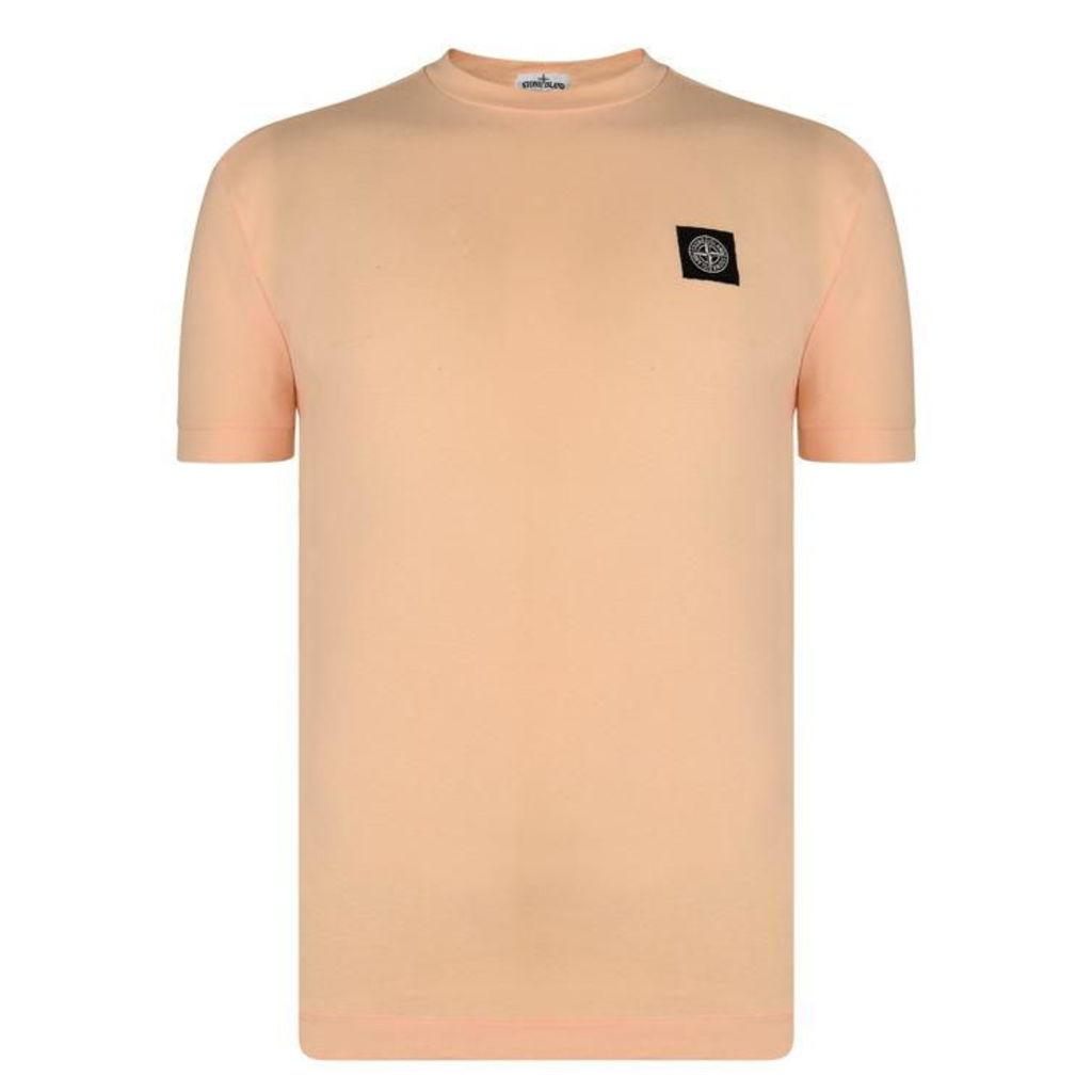 STONE ISLAND Patch Logo T Shirt
