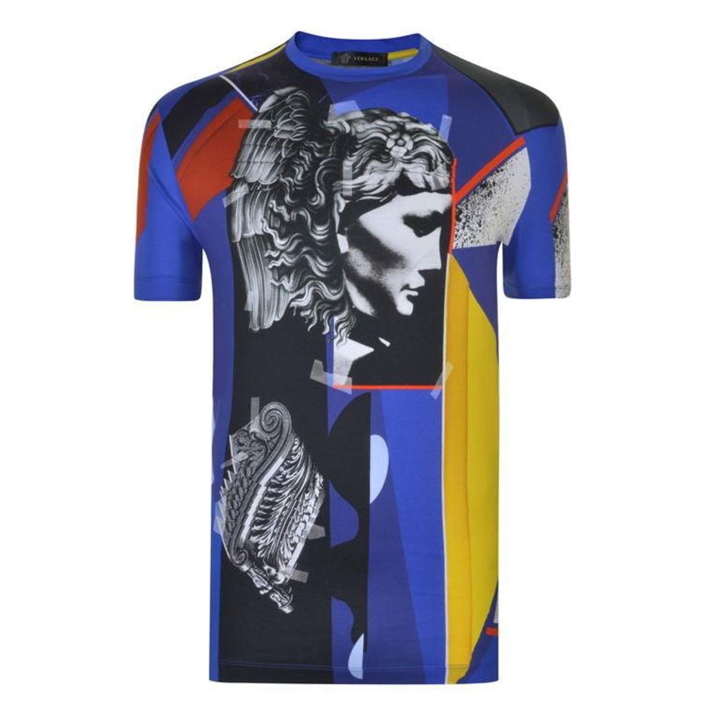 VERSACE Statue Print T Shirt
