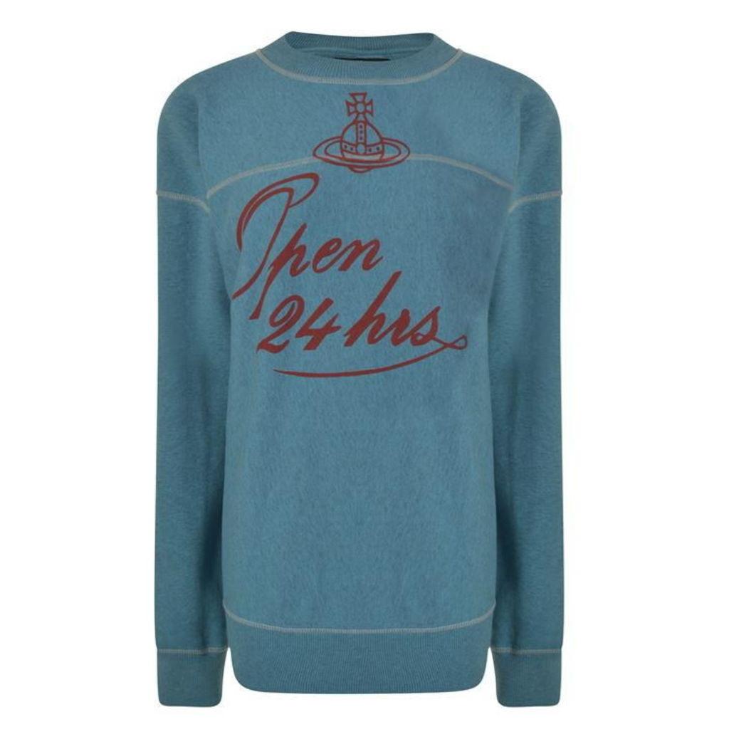 VIVIENNE WESTWOOD Open 24hrs Sweatshirt