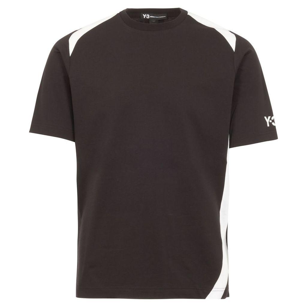 Black Panel Insert T-Shirt