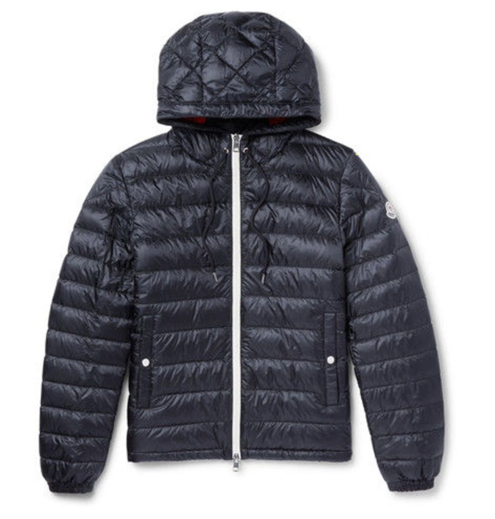 Ceze Quilted Shell Down Hooded Jacket