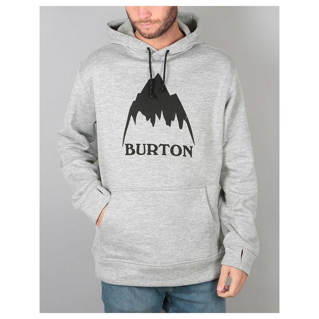 Burton Oak Pullover Hoodie - Monument Heather (S)