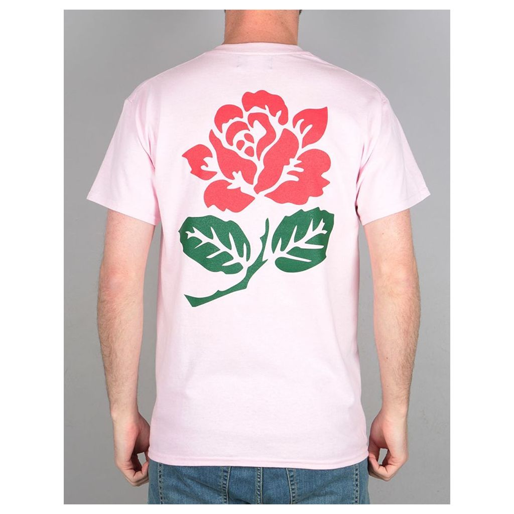 Route One Rose T-Shirt - Light Pink (L)