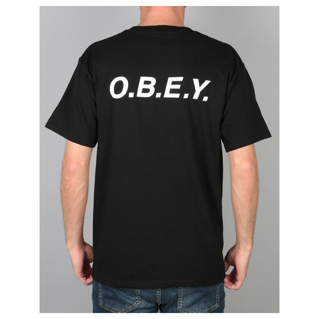 Obey O.B.E.Y. T-Shirt - Black (M)