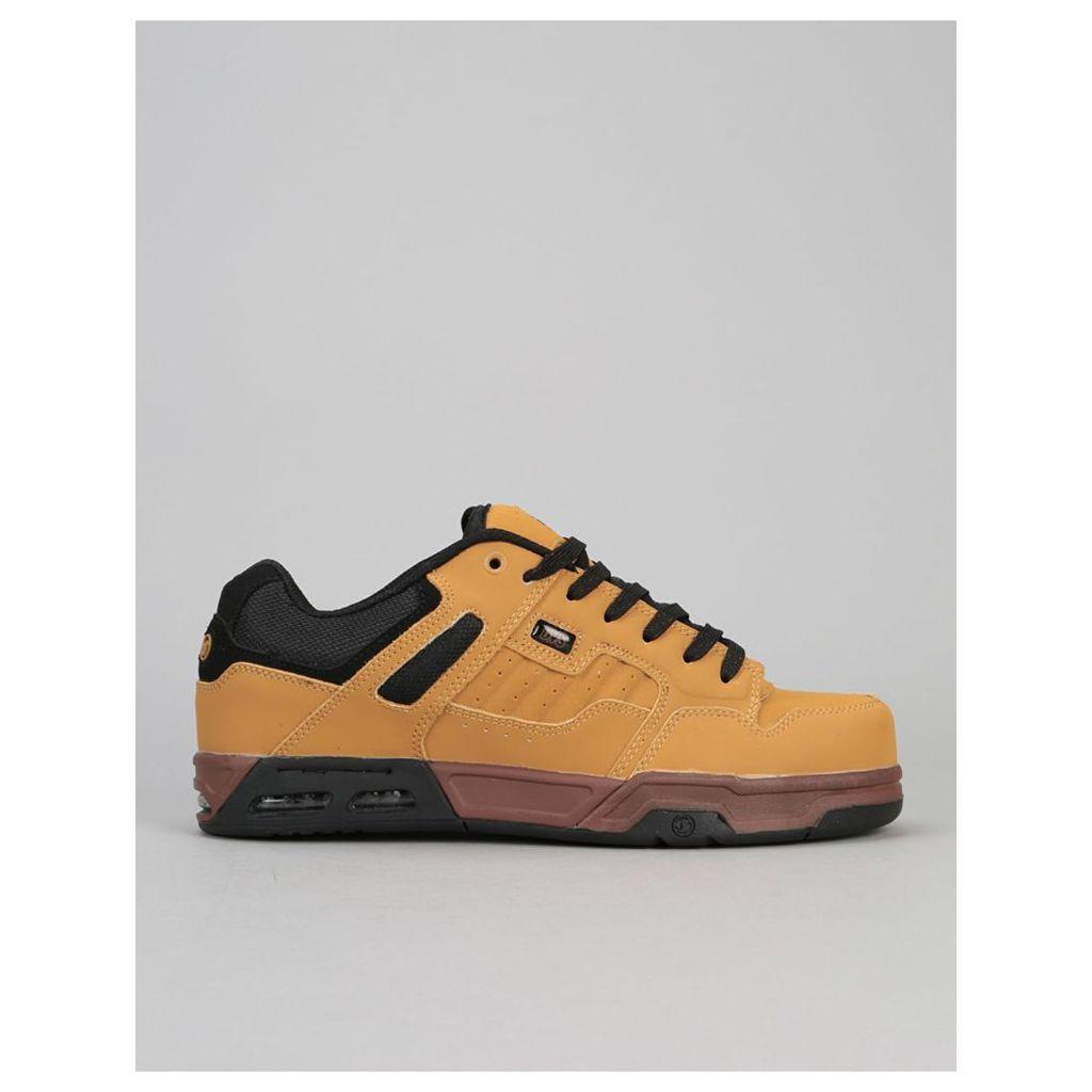 DVS Enduro Heir Skate Shoes - Chamois/Black Nubuck (UK 8)