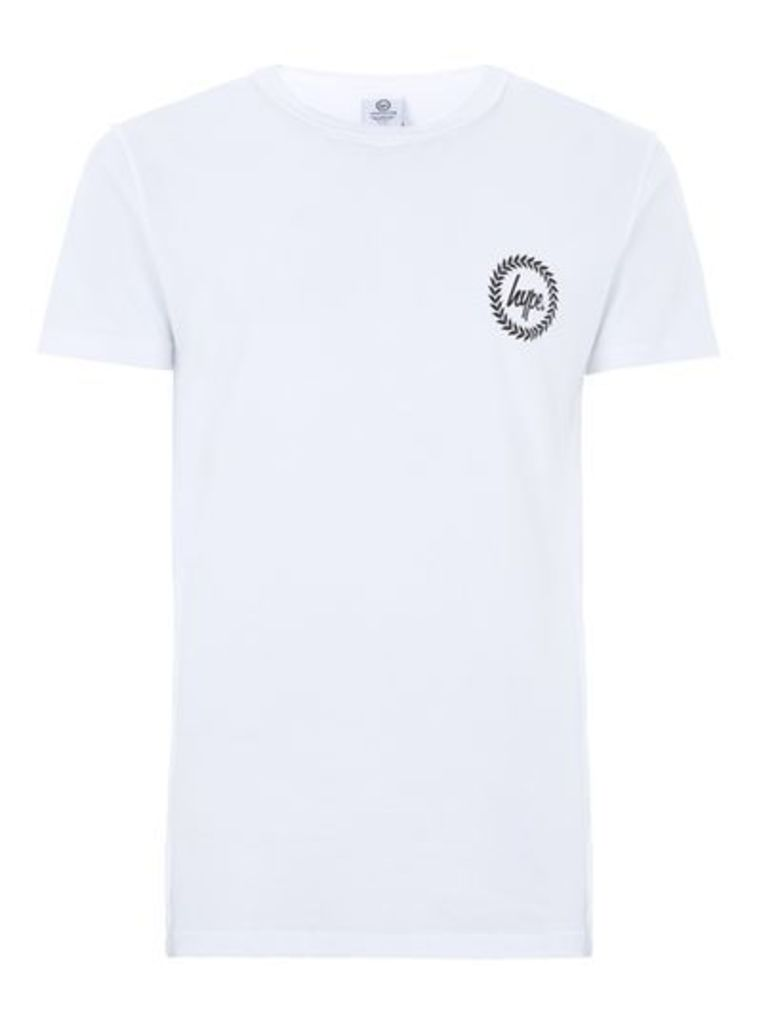 Mens HYPE White 'Inside Out' T-Shirt*, White