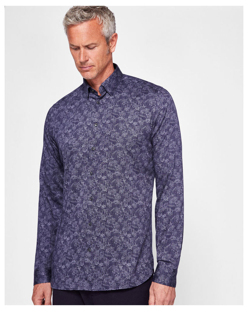 Ted Baker Printed shirt Blue