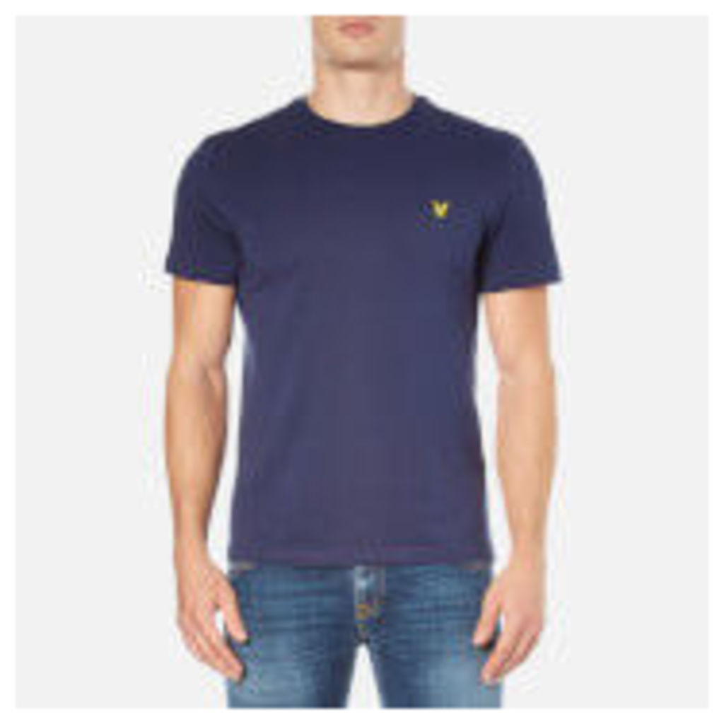 Lyle & Scott Men's Crew Neck T-Shirt - Navy - S - Blue
