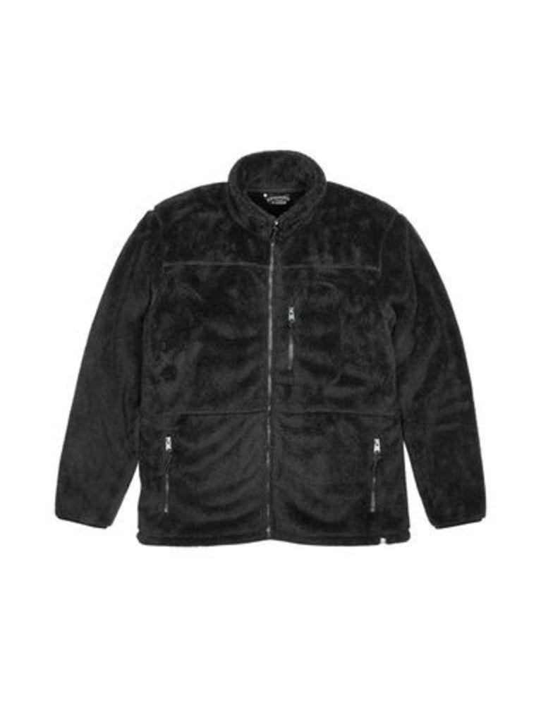 Mens Kensington Acuba Black Funnel Neck Jacket*, Black