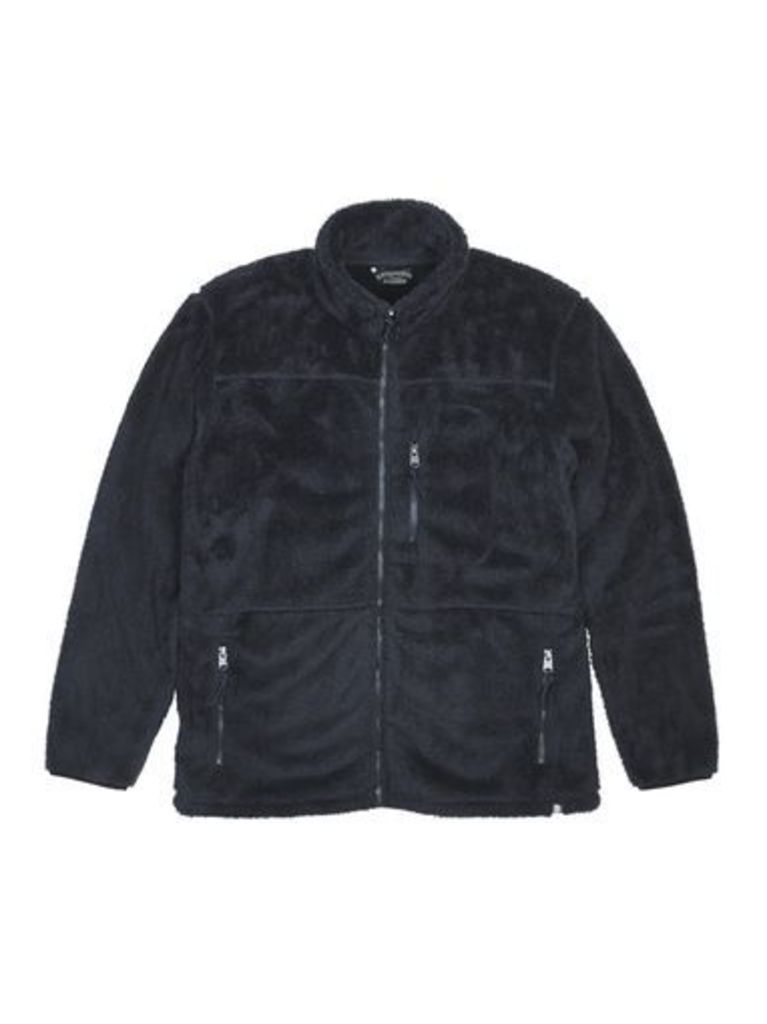 Mens Kensington Acuba True Navy Funnel Neck Jacket*, Blue