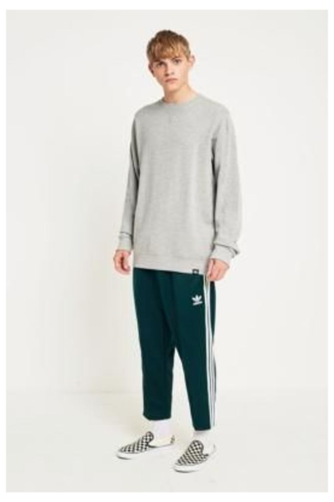 adidas Green Night SST Relaxed Crop Track Pants, Green