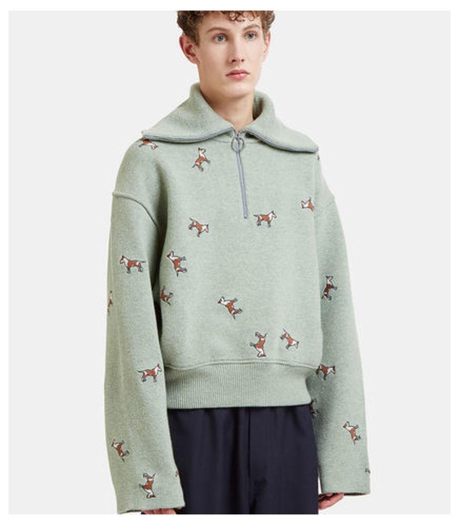 Nicolai Dog Knit Sweater