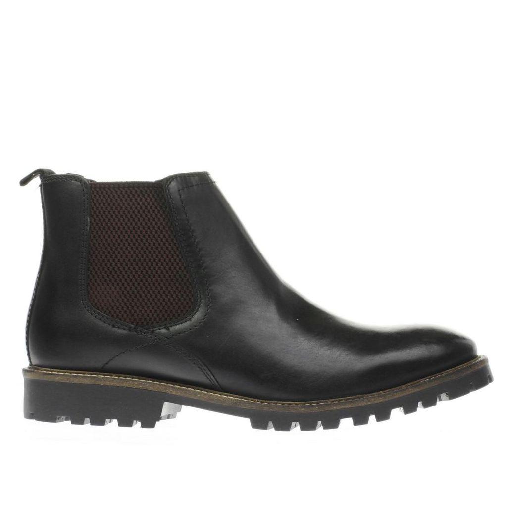 ikon black duster chelsea boots