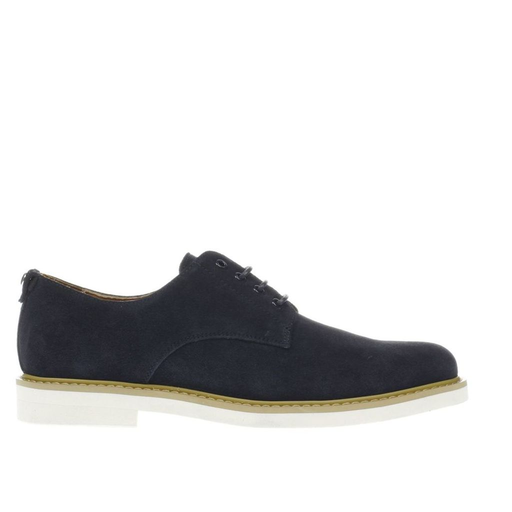 peter werth navy pegg derby shoes