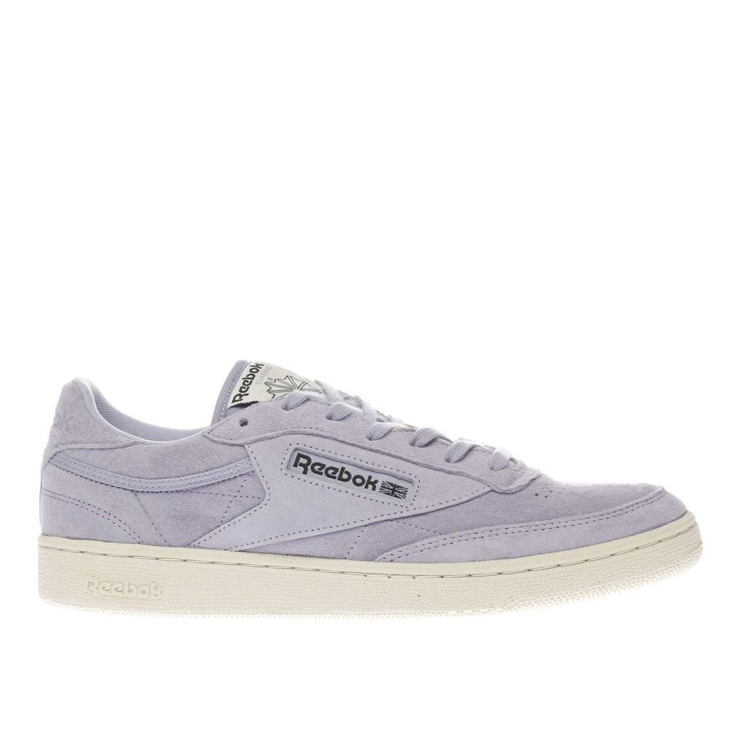 reebok lilac club c 85 trainers